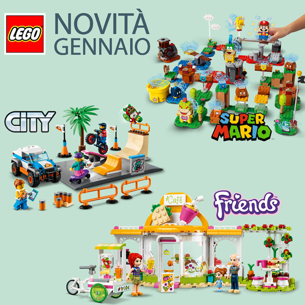 Novità LEGO gennaio 2021