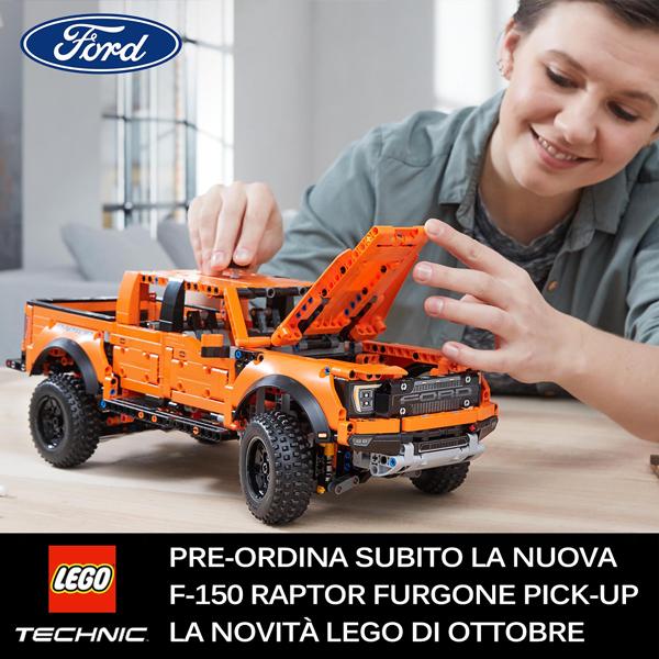 Preordina la Ford F-150 Raptor Furgone Pick-up LEGO TECHNIC