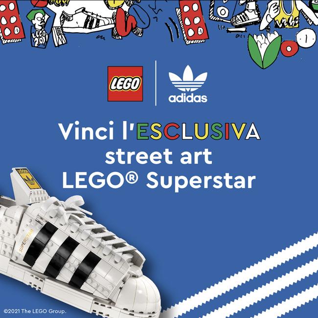 Vinci l'ESCLUSIVA street art LEGO® Superstar!