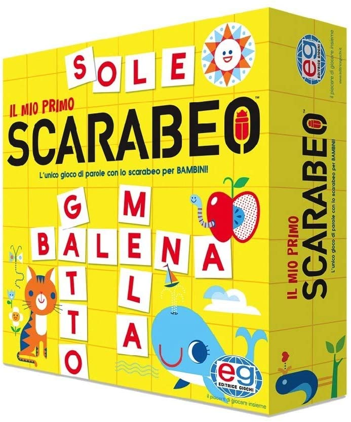 EDITRICE GIOCHI IL MIO PRIMO SCARABEO 6053994