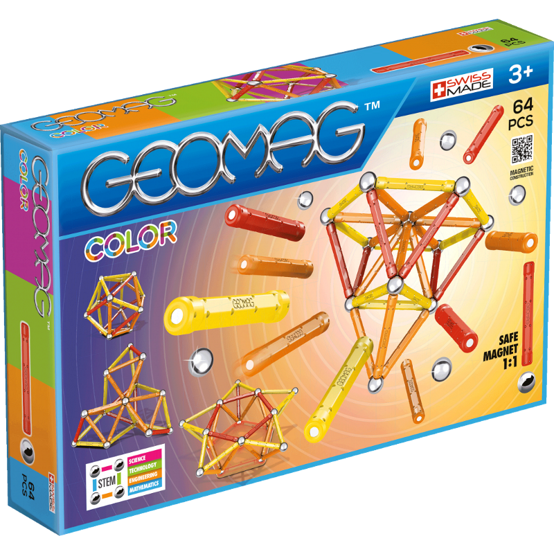 GEOMAG COLOR 262 - 64 PEZZI