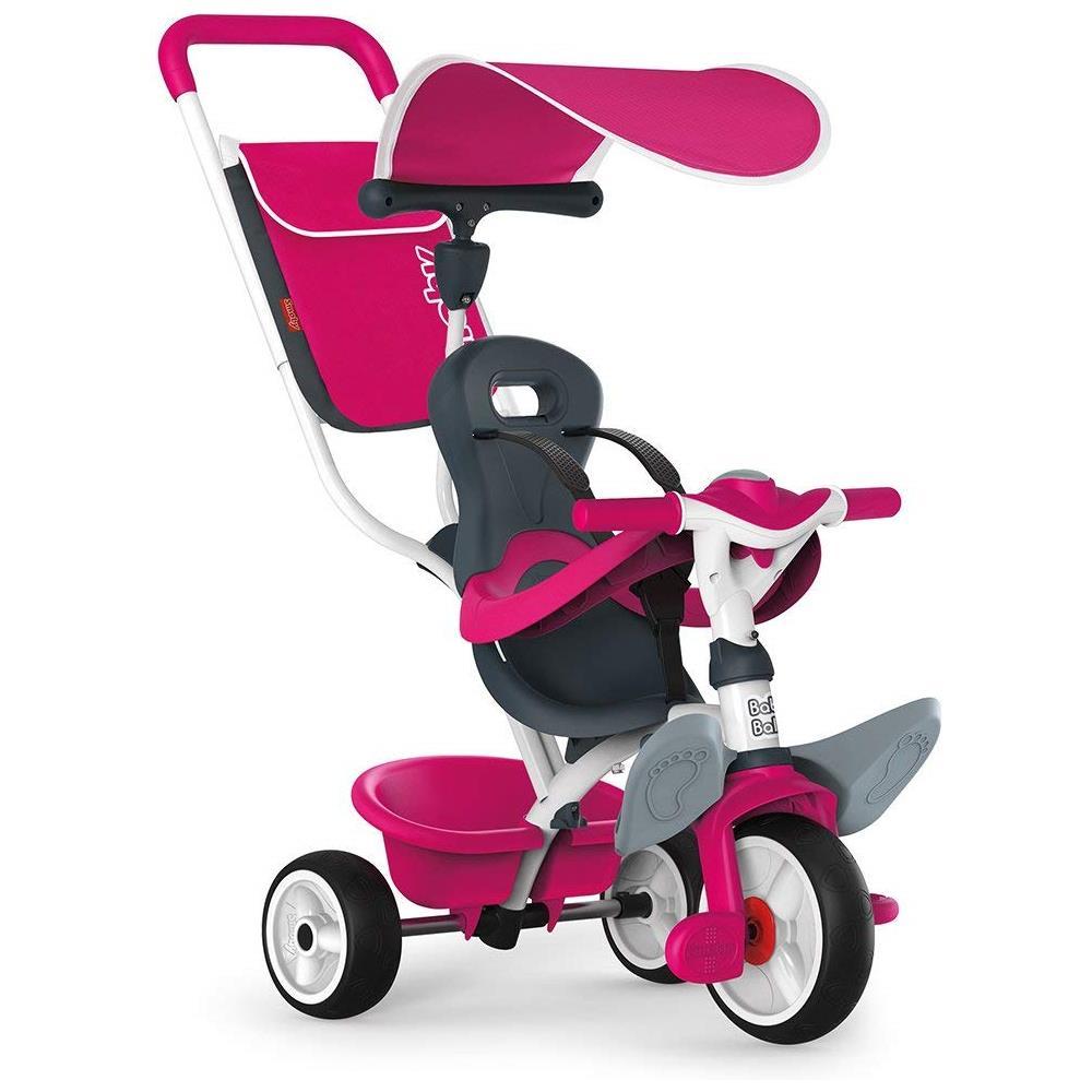 SMOBY TRICICLO BABY BALADE ROSA 741101