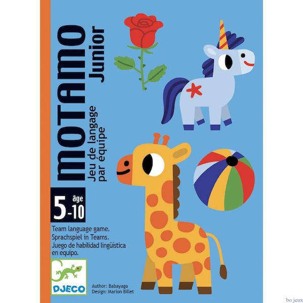 DJECO MOTAMO JUNIOR - GIOCO DELLE CARTE DJ05094