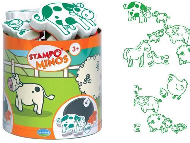 CREATIVAMENTE STAMPO MINOS ANIMALI FATTORIA