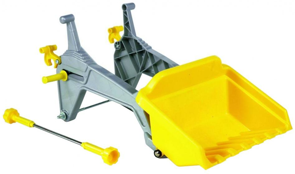 ROLLY TOYS BENNA PER TRATTORE A PEDALI GIALLA RollyLader cod. 409310