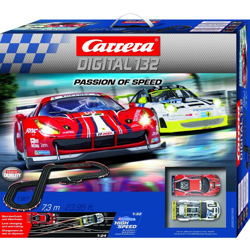 CARRERA DIGITAL 132 PASSION OF SPEED 20030195<br />