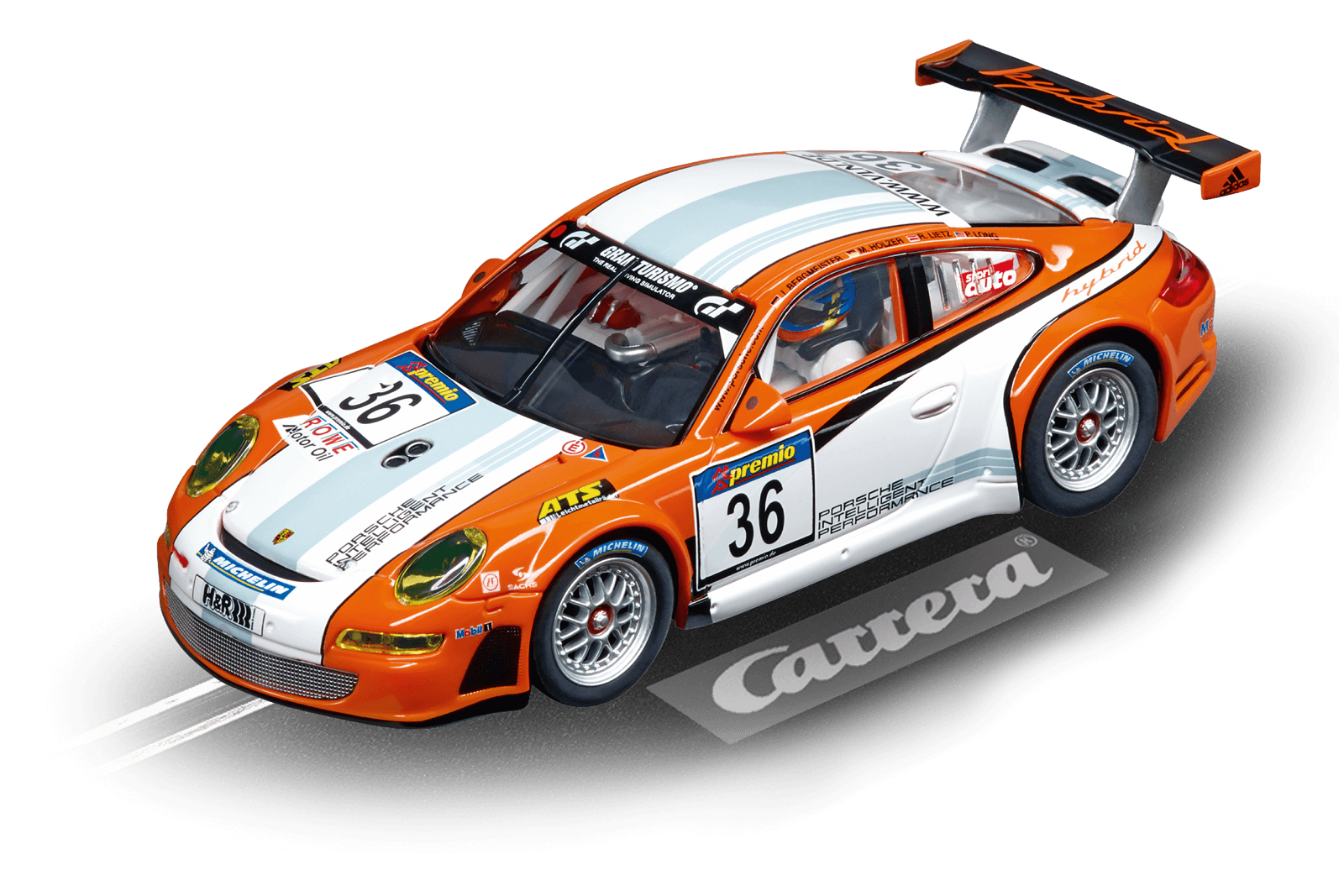 CARRERA DIGITAL 132 PORSCHE GT3 RSR cod. 20030714