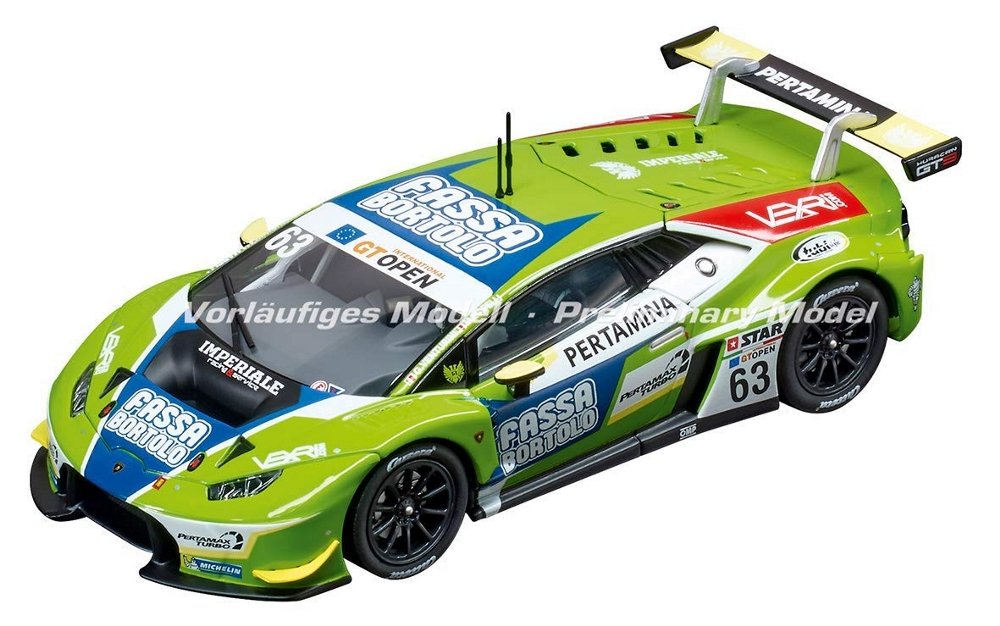 CARRERA DIGITAL 132 LAMBORGHINI HURACAN GT3 ''IMPERIALE RACING TEAM No. 63'' cod. 20030864