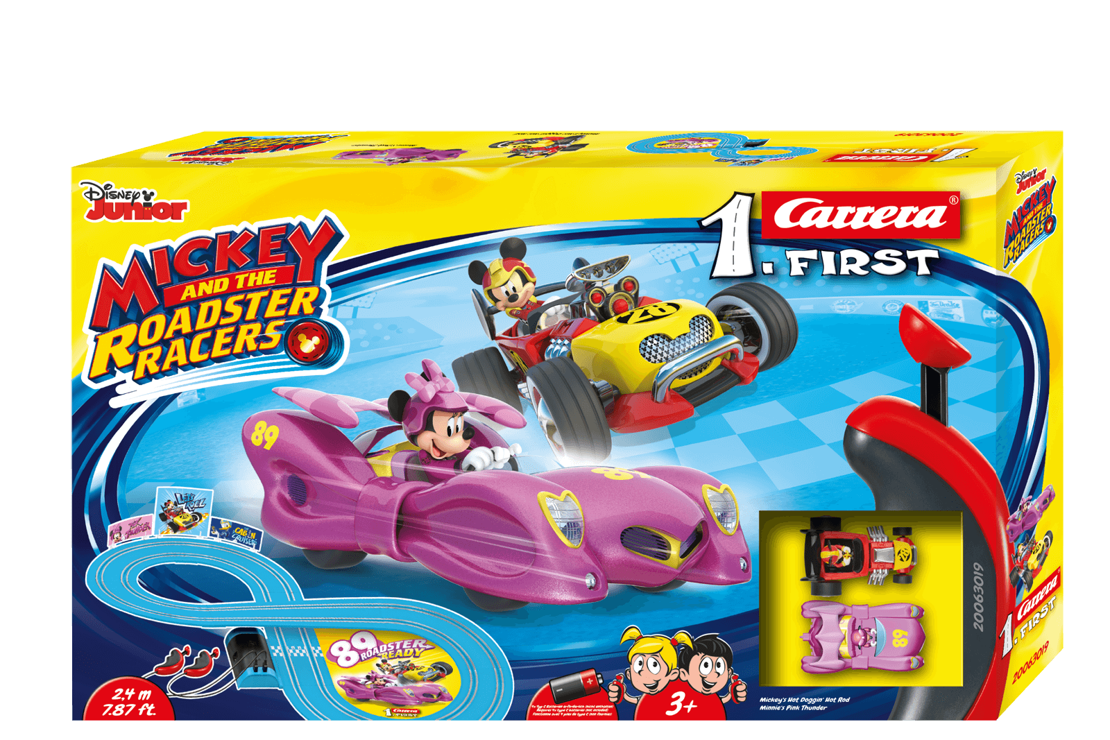 CARRERA FIRST MICKEY AND THE ROADSTER RACERS - MINNIE cod. 20063019
