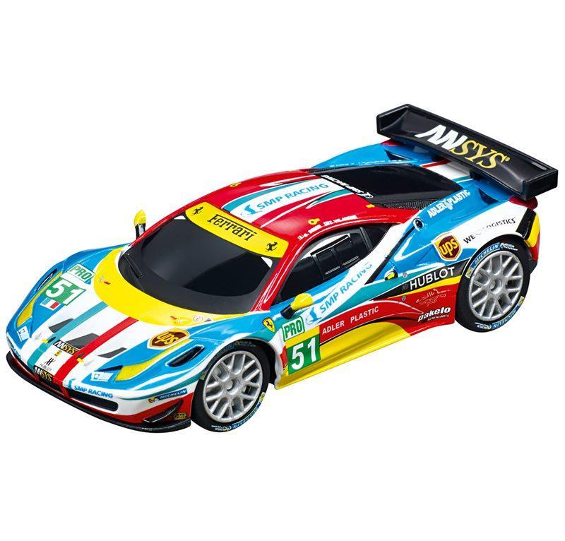 CARRERA GO!! FERRARI 458 ITALIA GT2 ''AF CORSE NO. 51'' cod. 20064053