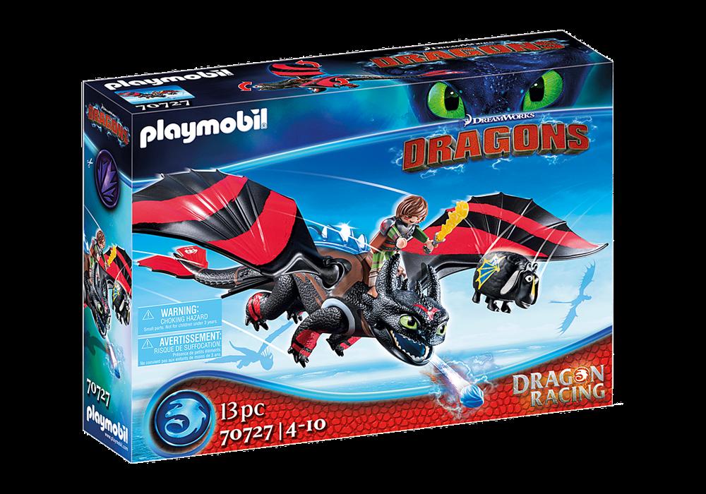 PLAYMOBIL  DRAGONS RACING: HICCUP E SDENTATO 70727