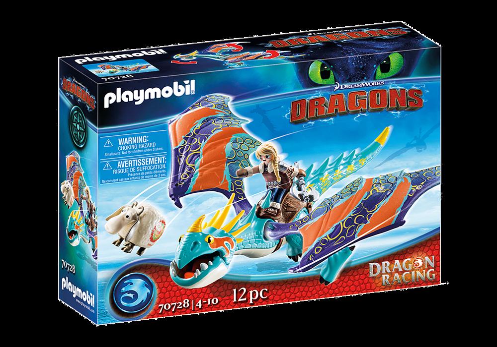 PLAYMOBIL  DRAGONS RACING: ASTRID E TEMPESTOSA 70728