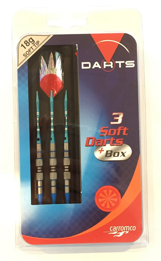 CARROMCO SOFT DART SET MARLIN, NICKEL TUNGSTEN 87790 <br />