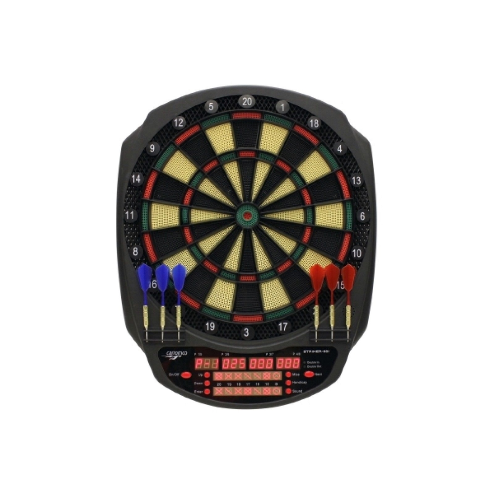 CARROMCO ELECTR. DARTBOARD - STRIKER-601 92445<br />