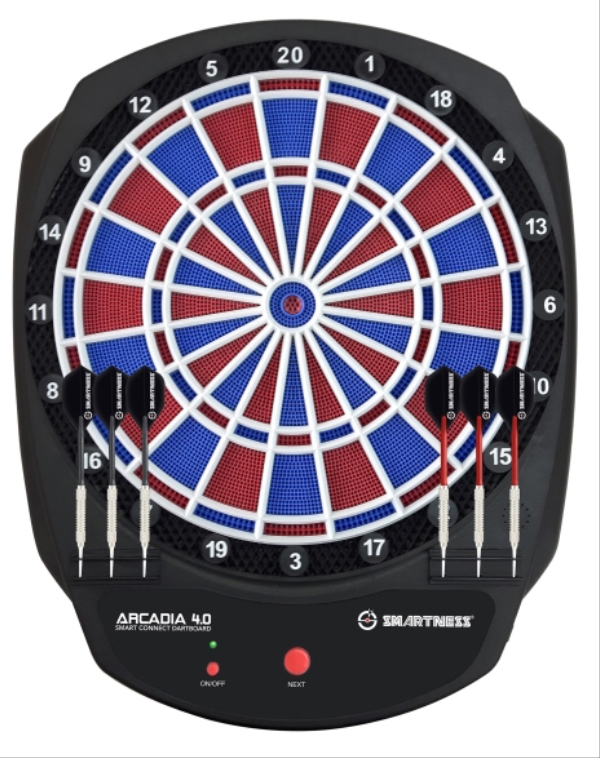 CARROMCO SMARTNESS SMART CONNECT DARTBOARD ARCADIA 4.0 94011<br /><br />