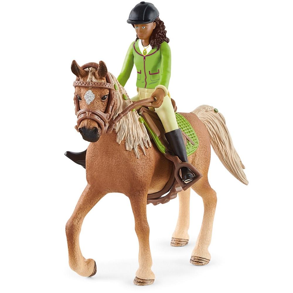 SCHLEICH HORSE CLUB SARAH E MISTERY 42542