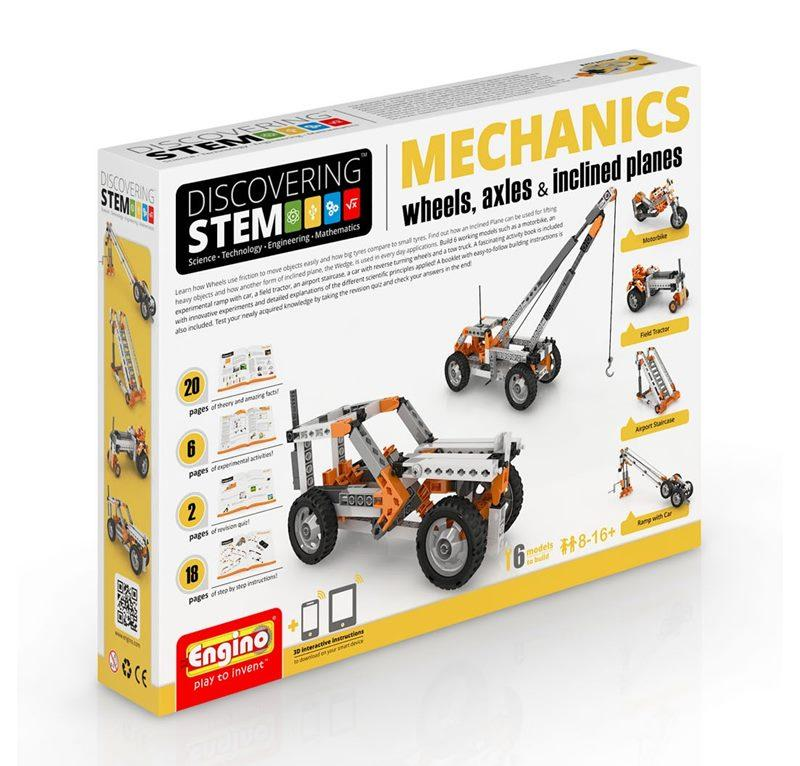 ENGINO STEM MECHANICS RUOTE, ASSALI E PIANI INCLINATI 094382
