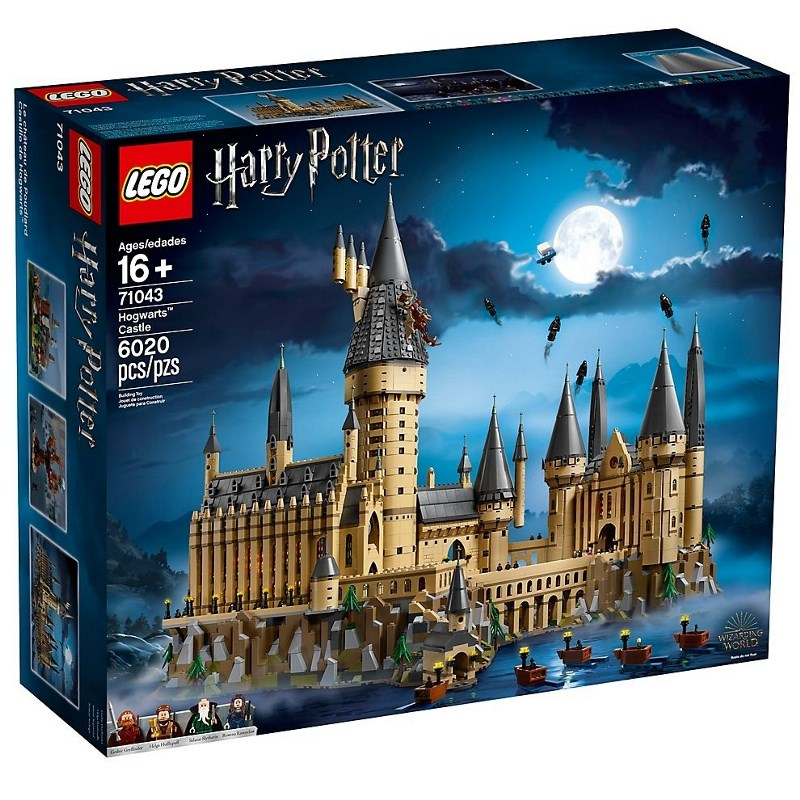 LEGO HARRY POTTER CASTELLO DI HOGWARTS 71043
