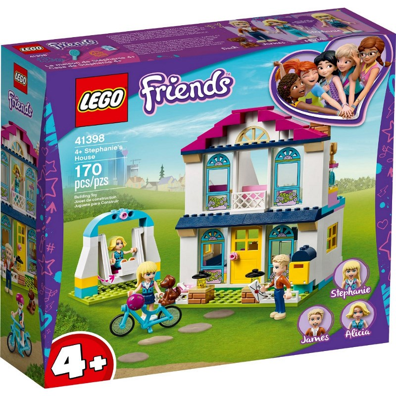 LEGO FRIENDS LA CASA DI STEPHANIE 41398