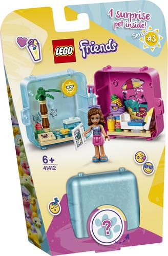 LEGO FRIENDS IL CUBO DELLE VACANZE DI OLIVIA 41412