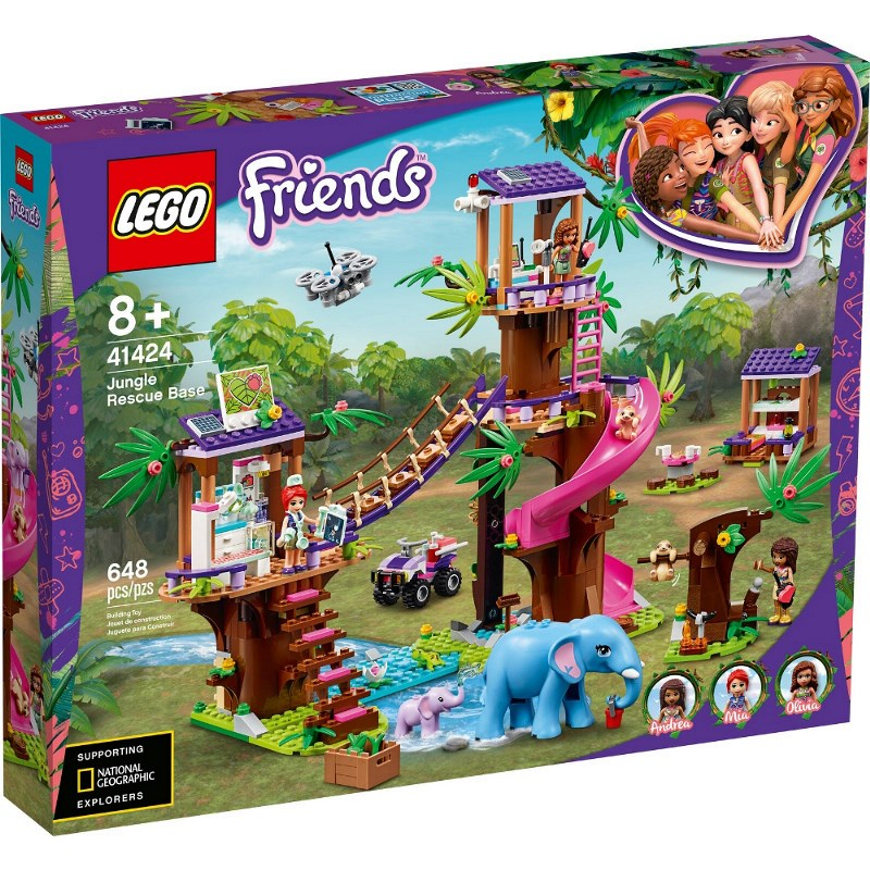 LEGO FRIENDS BASE DI SOCCORSO TROPICALE 41424