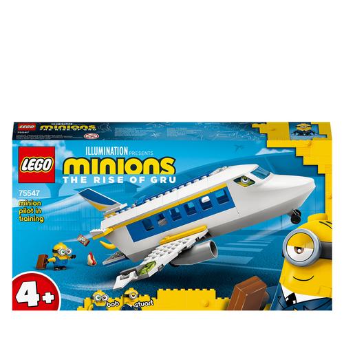 LEGO MINIONS L'ADDESTRAMENTO DEL MINION PILOTA 75547
