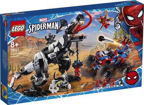 LEGO SUPER HEROES L'AGGUATO DEL VENOMSAURO 76151