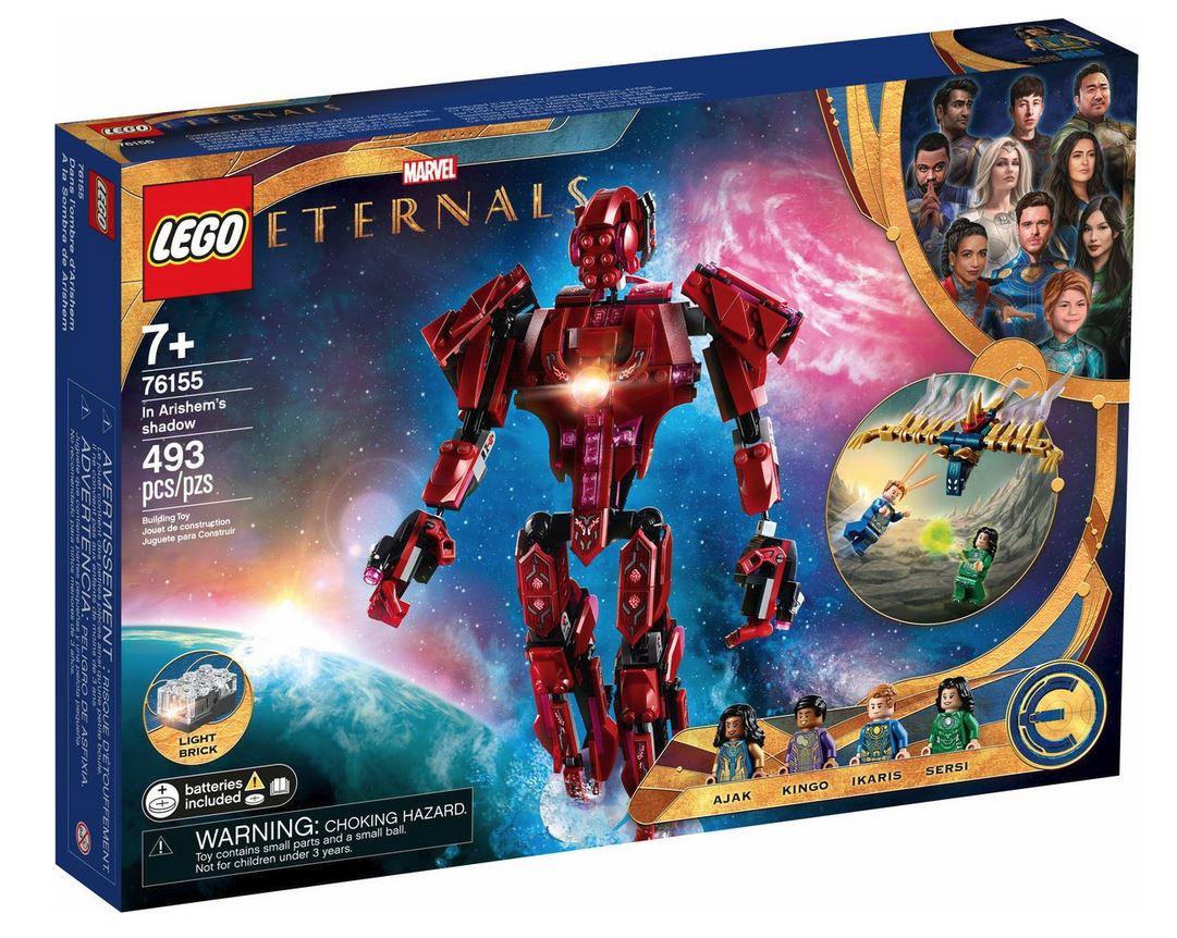 LEGO SUPER HEROES LEGO MARVEL: GLI ETERNALS ALL'OMBRA DI ARISHEM 76155