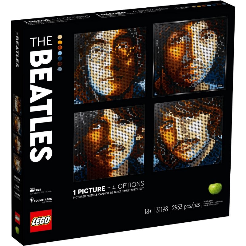 LEGO ART 2020 THE BEATLES 31198