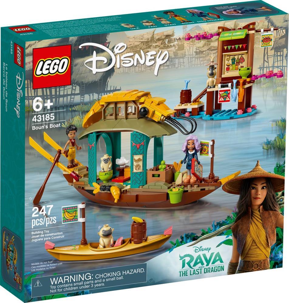 LEGO DISNEY PRINCESS BARCA DI BOUN 43185