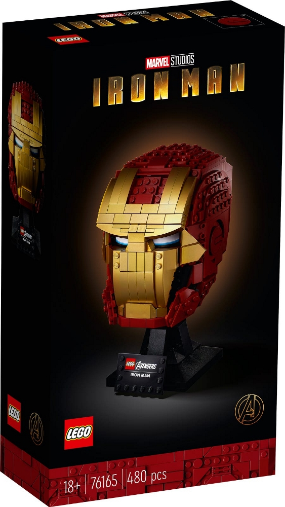 LEGO SUPER HEROES CASCO DI IRON MAN 76165