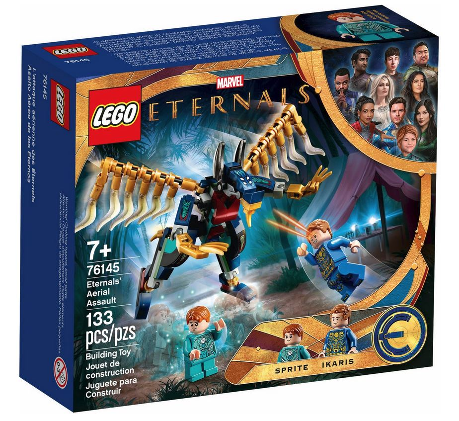 LEGO SUPER HEROES ASSALTO AEREO DEGLI ETERNALS 76145