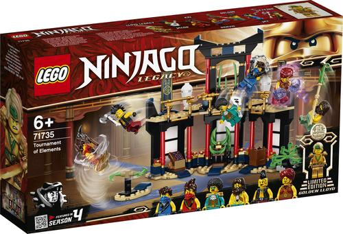 LEGO NINJAGO IL TORNEO DEGLI ELEMENTI 71735