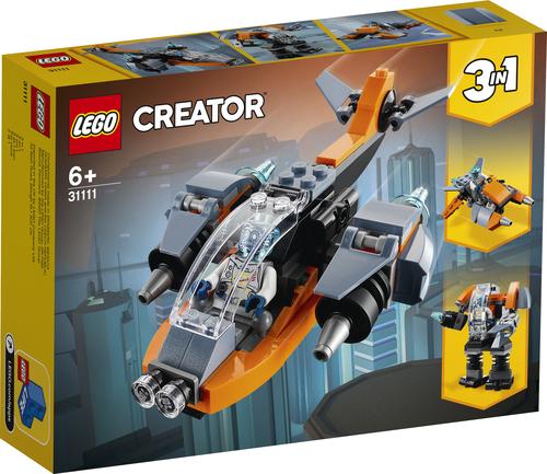 LEGO CREATOR CYBER-DRONE 31111