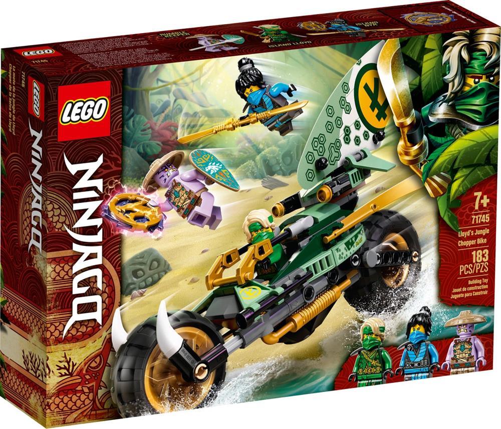 LEGO NINJAGO MOTO DELLA GIUNGLA DI LLOYD 71745