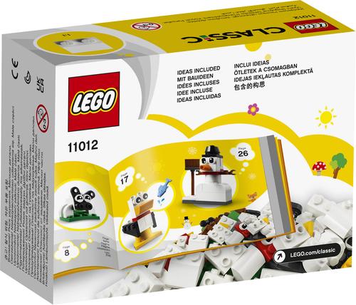 LEGO CLASSIC MATTONCINI BIANCHI CREATIVI 11012