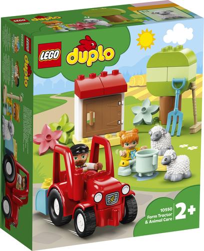 LEGO DUPLO IL TRATTORE DELLA FATTORIA E I SUOI ANIMALI 10950