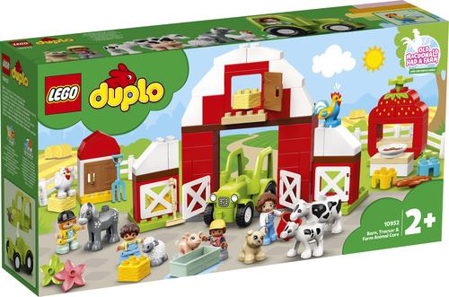 LEGO DUPLO FATTORIA CON FIENILE, TRATTORE E ANIMALI 10952