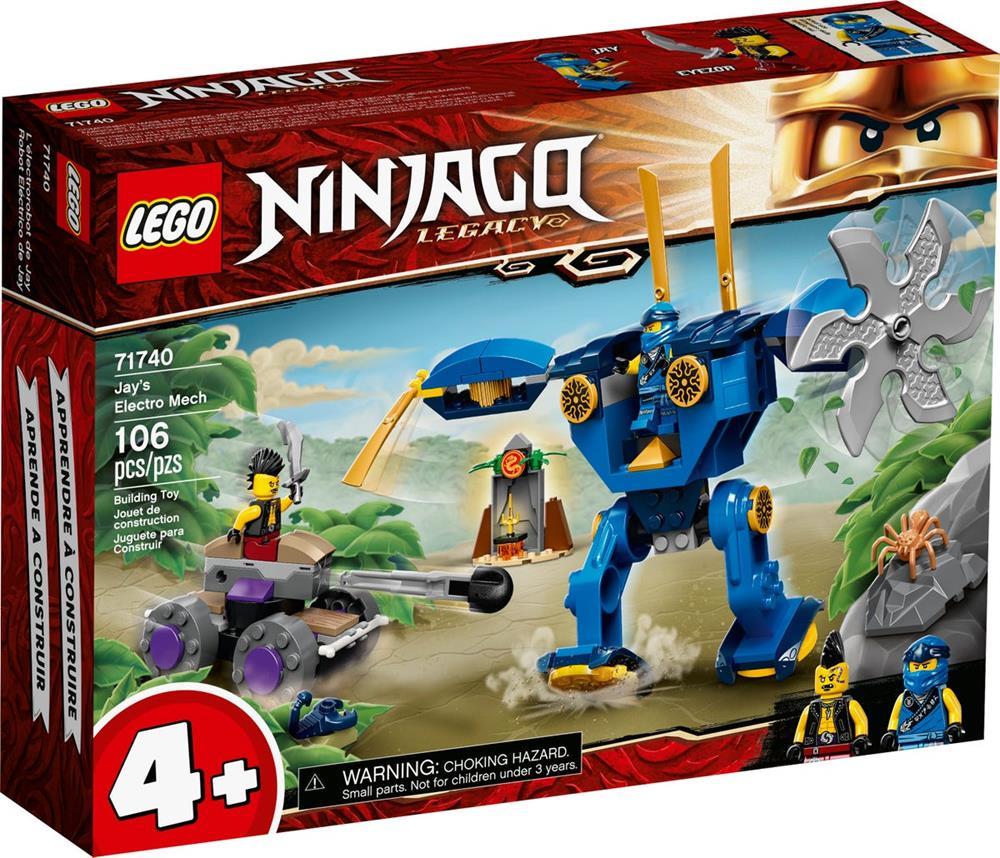 LEGO NINJAGO ELECTRO-MECH DI JAY 71740