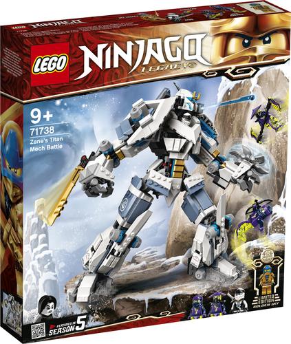 LEGO NINJAGO MECH TITANO DA BATTAGLIA DI ZANE 71738