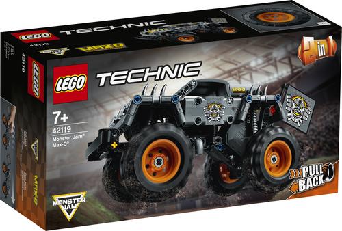 LEGO TECHNIC MONSTER JAM® MAX-D 42119