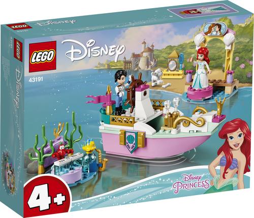 LEGO DISNEY PRINCESS LA BARCA DELLA FESTA DI ARIEL 43191