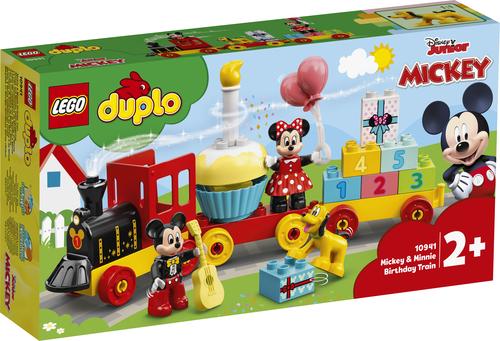 LEGO DUPLO DISNEY IL TRENO DEL COMPLEANNO DI TOPOLINO E MINNIE 10941