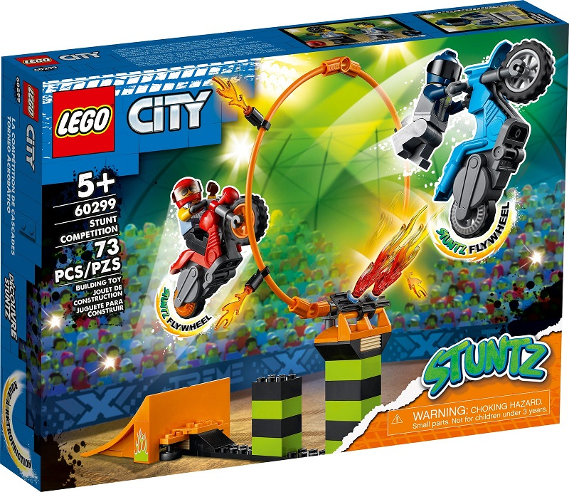 LEGO CITY COMPETIZIONE ACROBATICA 60299