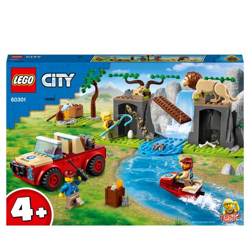 LEGO CITY FUORISTRADA DI SOCCORSO ANIMALE 60301