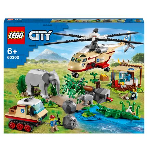 LEGO CITY OPERAZIONE DI SOCCORSO ANIMALE 60302