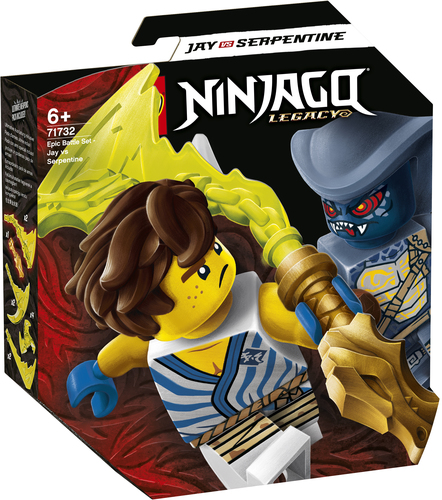 LEGO NINJAGO BATTAGLIA EPICA - JAY VS SERPENTINO 71732
