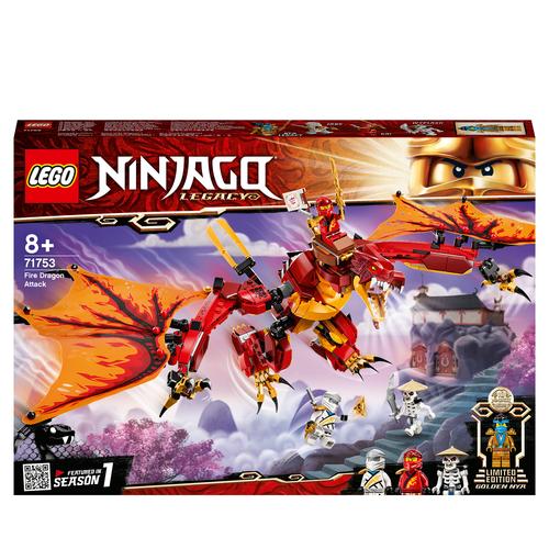 LEGO NINJAGO L'ATTACCO DEL DRAGONE DEL FUOCO 71753