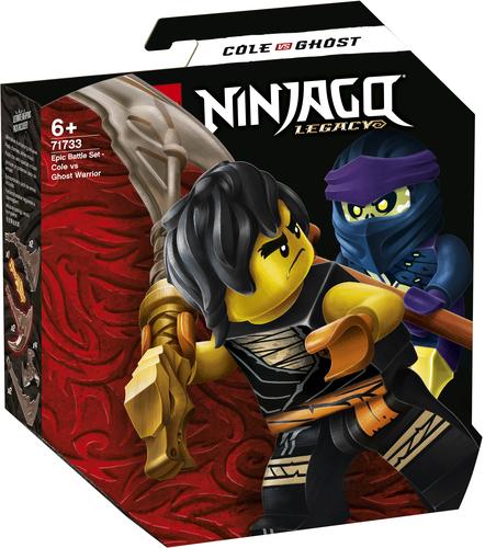 LEGO NINJAGO BATTAGLIA EPICA - COLE VS GUERRIERO FANTASMA 71733