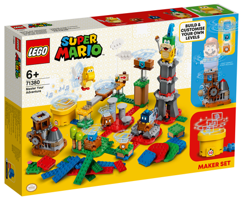 LEGO SUPER MARIO COSTRUISCI LA TUA AVVENTURA - MAKER PACK 71380